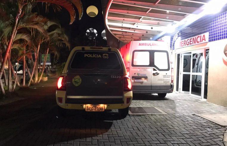 Briga de vizinhos termina com homem baleado na perna no Jardim Jacarandá II