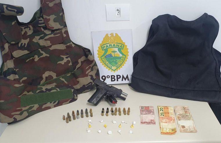 Operação baixa temporada: ROTAM apreende armas, munições e coletes balísticos em Paranaguá