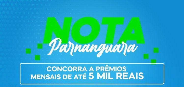 Nota Parnanguara sorteia o primeiro prêmio de R$ 5 mil