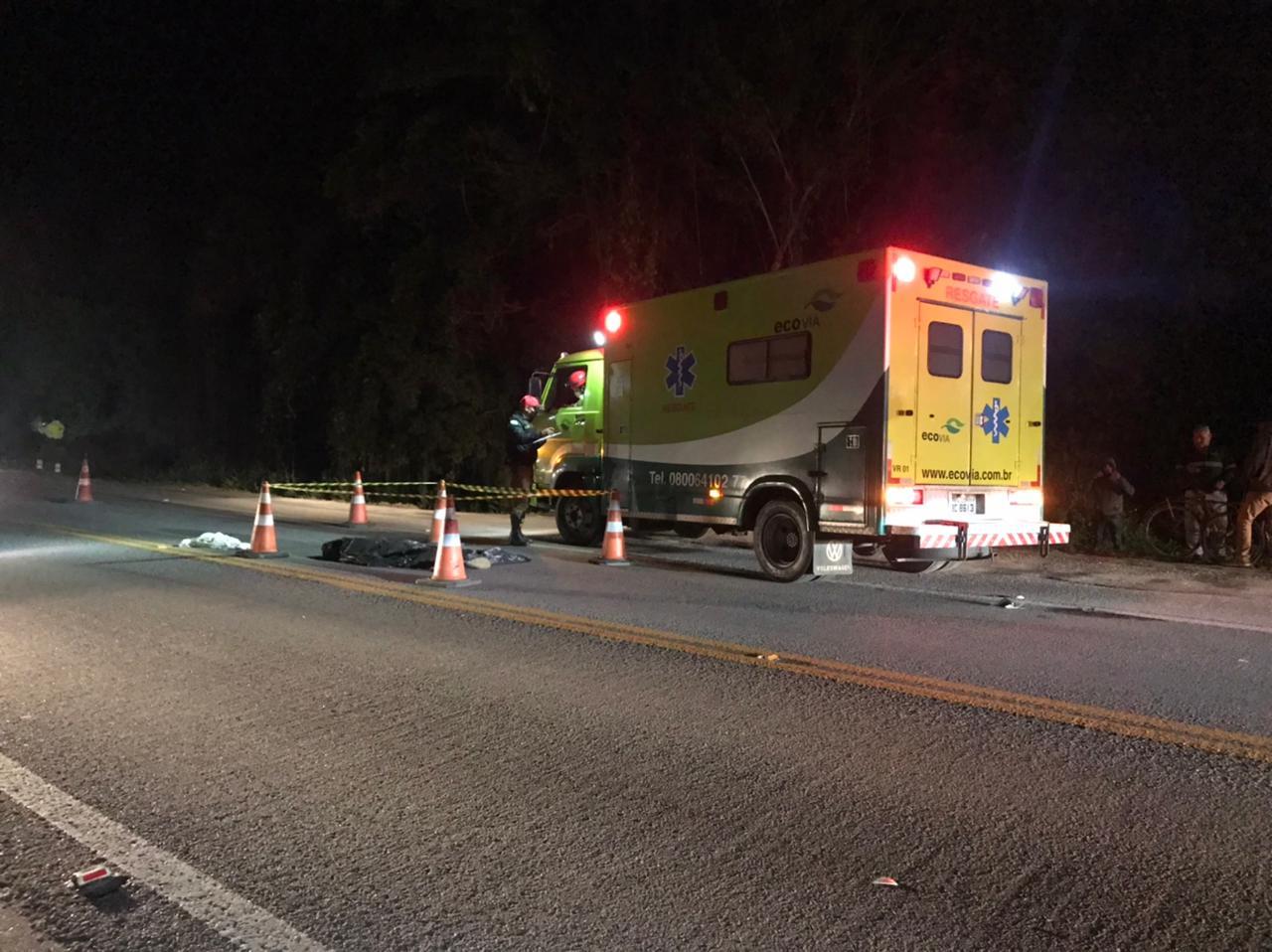 Ciclista morre em grave acidente na PR 407