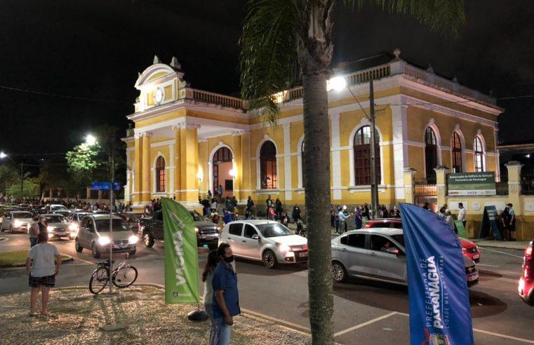 Vacinação contra a Covid-19 é retomada em Paranaguá; público geral a partir dos 23 anos já pode receber a primeira dose