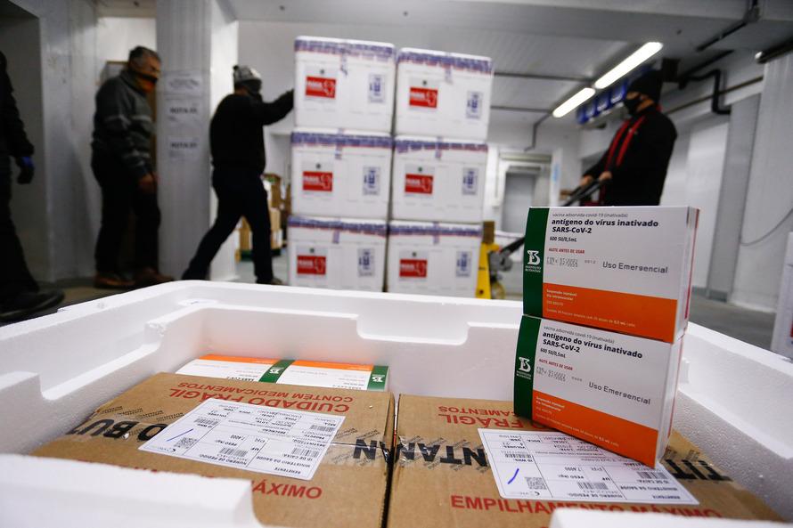 Primeira Regional de Saúde receberá 7.671 doses de vacinas contra a Covid-19