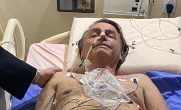 Com obstrução intestinal, Bolsonaro é transferido a São Paulo para possível cirurgia de emergência