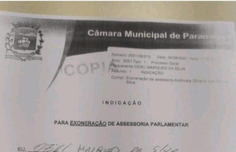 Assessora denuncia vereador de Paranaguá por suposta prática de rachadinha