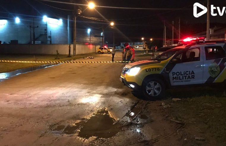 Homem é morto a tiros em Matinhos; suspeitos ainda não foram identificados