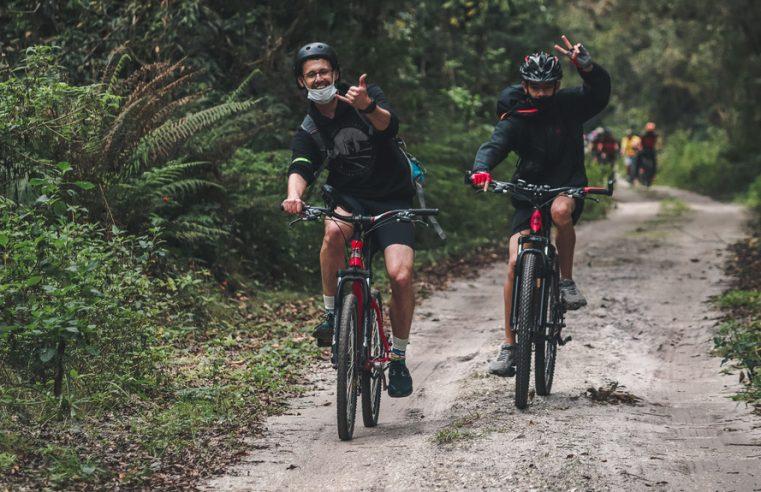 Lançamento de ciclorrota em Pontal do Paraná marca retomada do esporte no Litoral