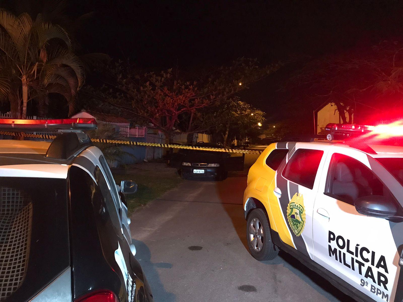 Homicídio em Matinhos: homem cai em possível emboscada e é assassinado a tiros no bairro Bom Retiro