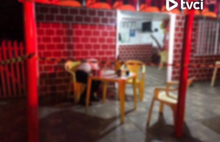 Professor aposentado é assassinado a tiros dentro de bar,  em Antonina