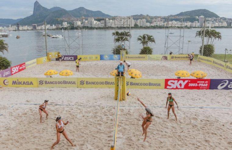 Ágatha e Duda iniciam o Circuito Open de vôlei de praia nesta quinta-feira