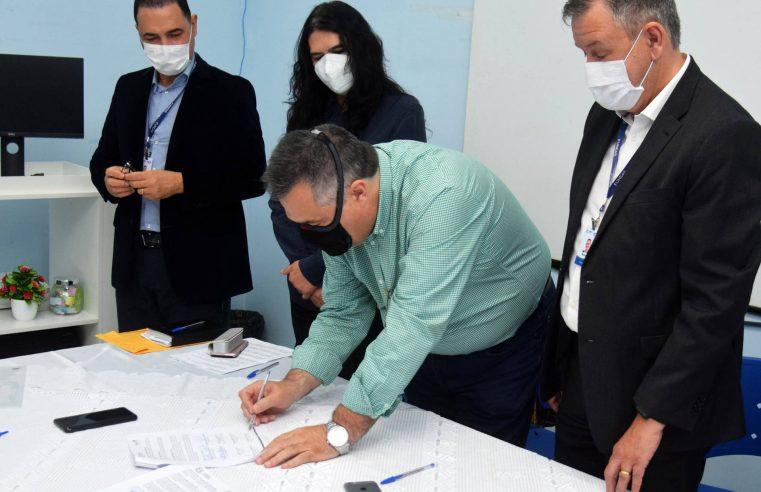 Parceria entre Saúde e Unespar ampliará atendimento no Hospital Regional do Litoral