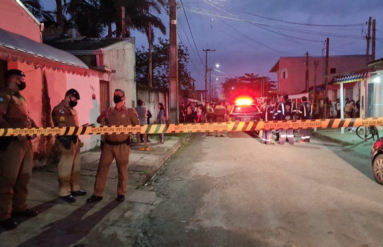 Homem é morto em via pública no bairro Beira Rio, em Paranaguá